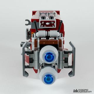 REVIEW LEGO Star Wars 75099 Rey's Speeder 16 - HelloBricks