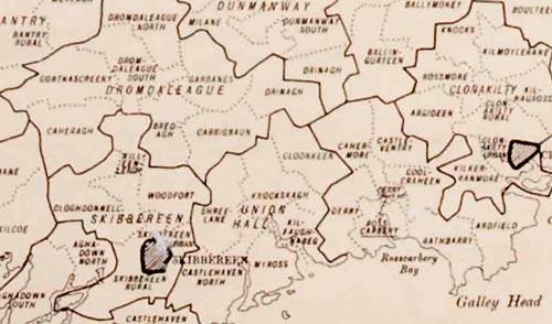 Irish Census DED Map