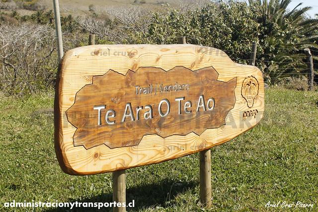 Sendero Te Ara o Te Ao - Isla de Pascua
