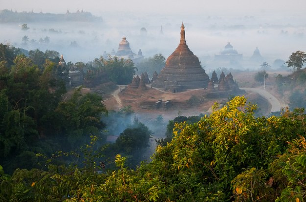 Green and gold. Mrauk U