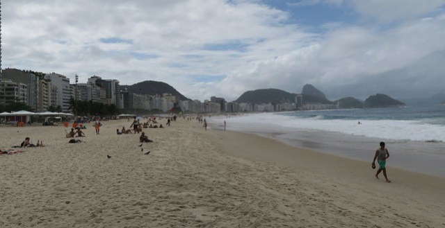 copacabana beach afternoon rio