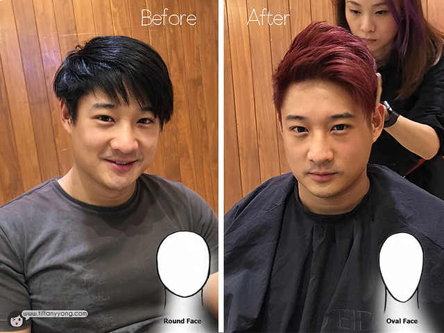 Hairstyle for men face