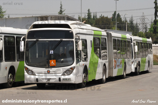 Transantiago - Subus Chile - Marcopolo Gran Viale / Volvo (BDWL41) (9544)