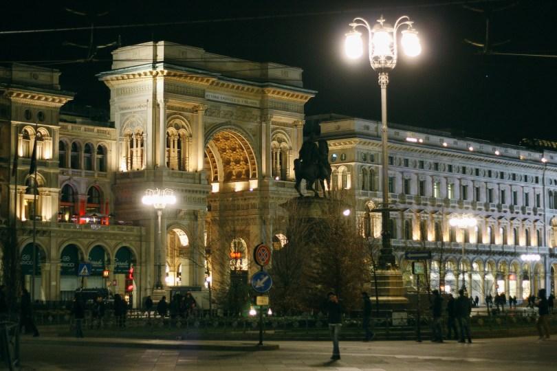 Night in Milan