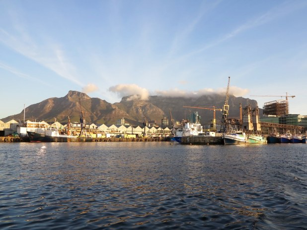Ciudad del Cabo desde el mar