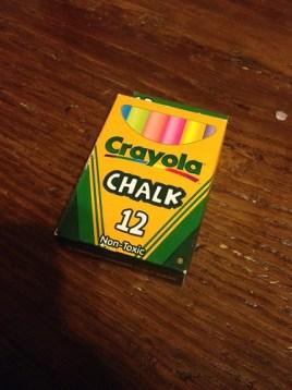31DoM: chalk