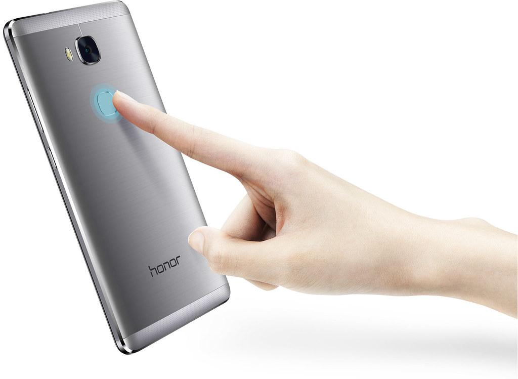 Een snelle en makkelijk te gebruiken vingerafdruk sensor, net zoals de premium Huawei smartphones!