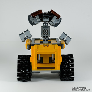 REVIEW LEGO 21303 WALL-E LEGO IDEAS 20