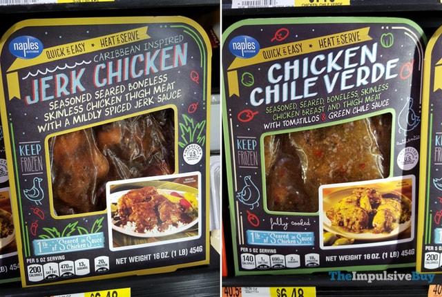 Naples Jerk Chicken and Chicken Chile Verde