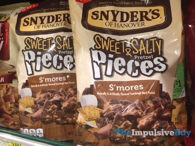 Snyder's of Hanover S'mores Sweet & Salty Pretzel Pieces