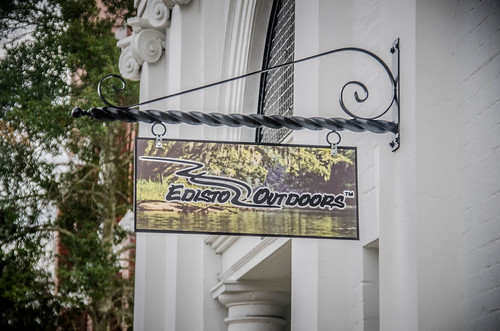 Edisto Outdoors Street Sign
