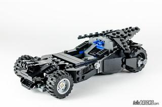 REVIEW LEGO 76045 DC Comics Batman Kryptonite Interception 21