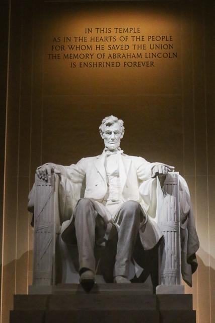 Abraham Lincoln - Lincoln Memorial 3