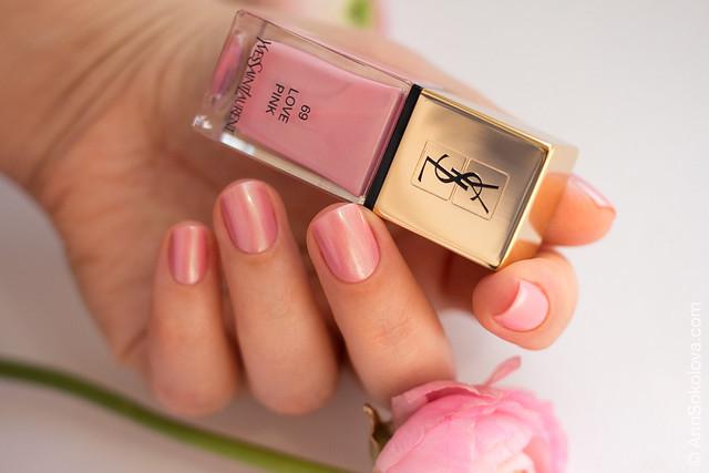 03 YSL #69 Love Pink Ann Sokolova swatches