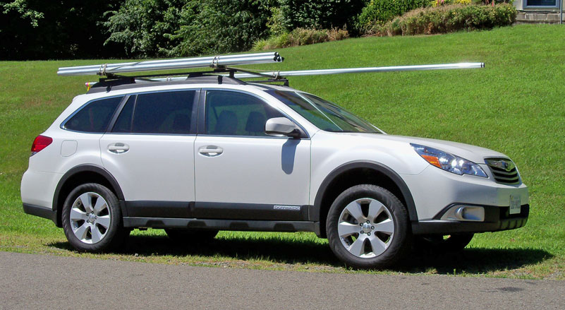 Modified Roof Racks for 4th Gen Outback