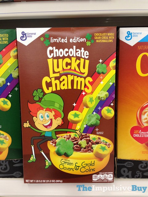 Limited Edition Chocolate Lucky Charms