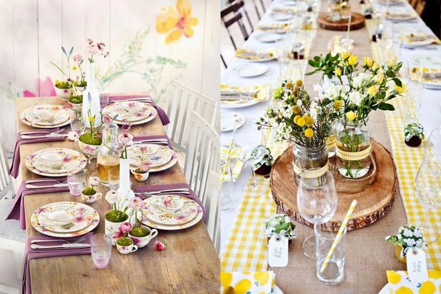 decorar una mesa flores-cena-amigos-primavera-verano-decoracion