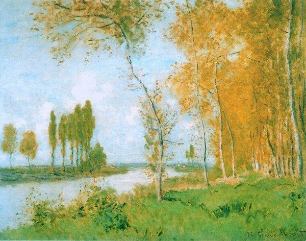 Sublime Springtime Paintings Claude Monet 5