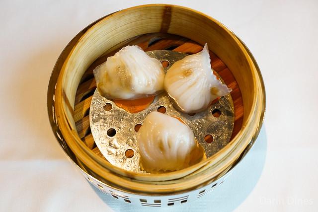 Steamed Shrimp Dumplings with Wild Mushrooms