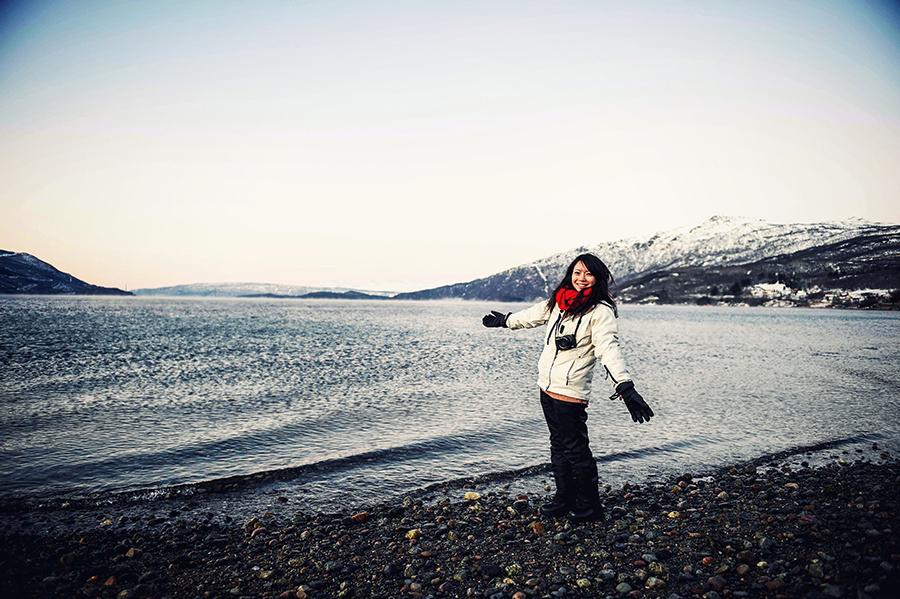 2016.02.23| 看我歐行腿 | 阿呀~一不小心就從瑞典到了挪威, Narvik 小鎮遇見地理課本中的峽灣 22.jpg