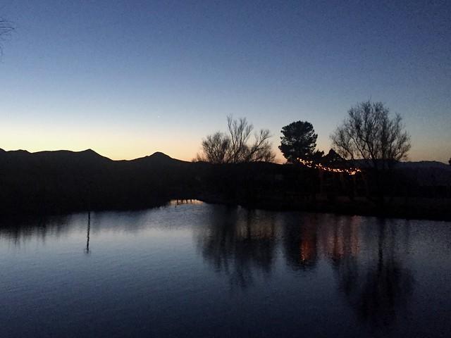 Joshua Tree Lake and RV Campground