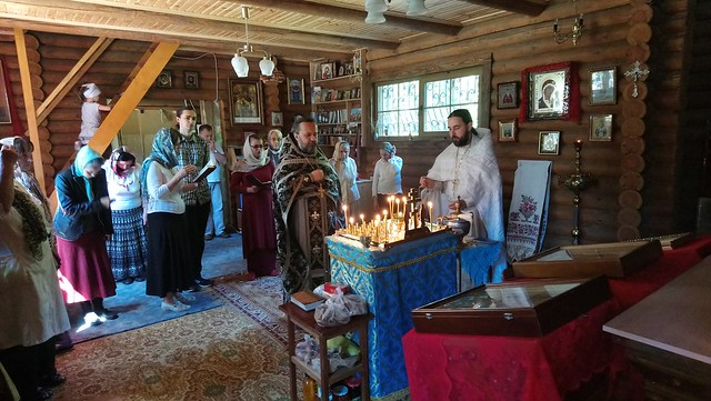 Троицкая родительская суббота. Панихида. 2018 05 26 Dead Office, Church of the Kazan icon of the Mother of God, Kyiv