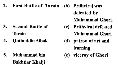 ICSE Solutions for Class 7 History and Civics - The Turkish Invaders - HIS-33339