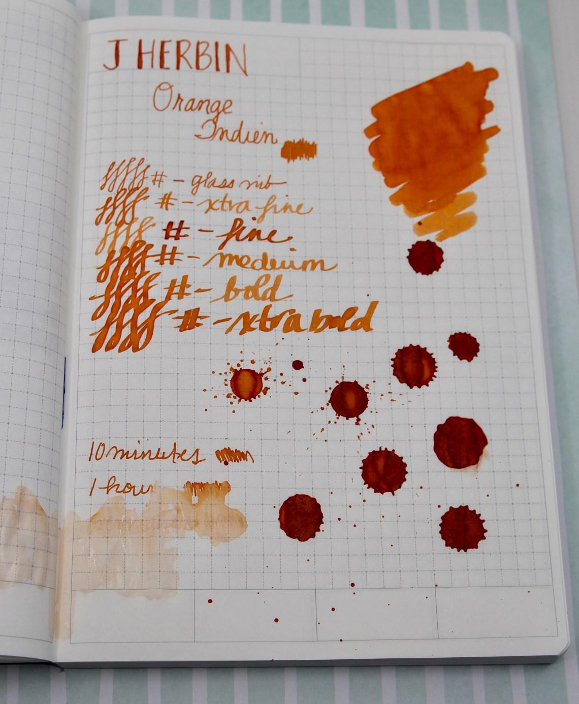 J. Herbin Orange Indien