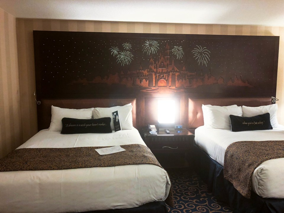 Our Rooms at the Disneyland Hotel