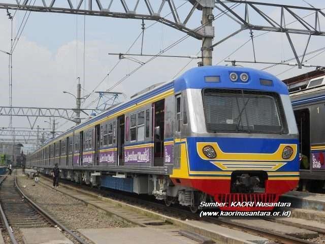 krl toei 6000 series (KRL Cisadane Express)