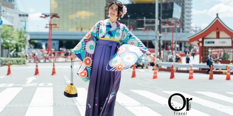 【東京旅遊】淺草愛和服 這次不穿和服改穿文青袴、日本畢業生的定番裝扮、淺草半日攝影路線