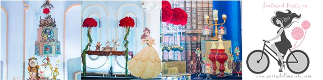 eunice beauty and the beast theme party cover
