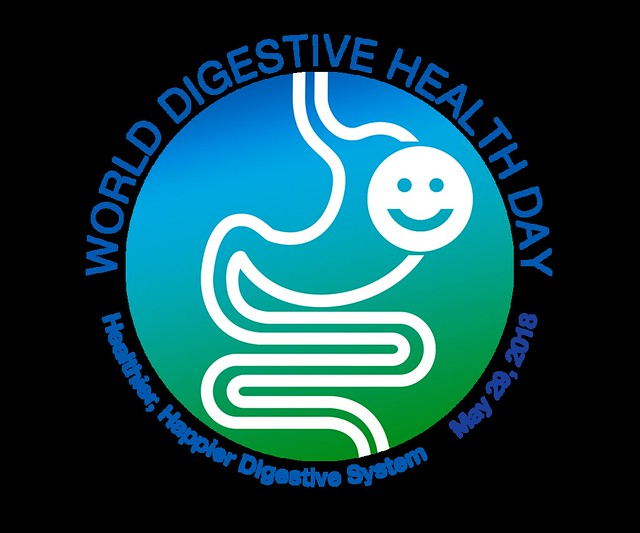 World Digestive Health Day Logo