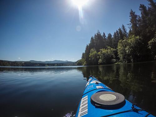 Paddling Lake Padden-011