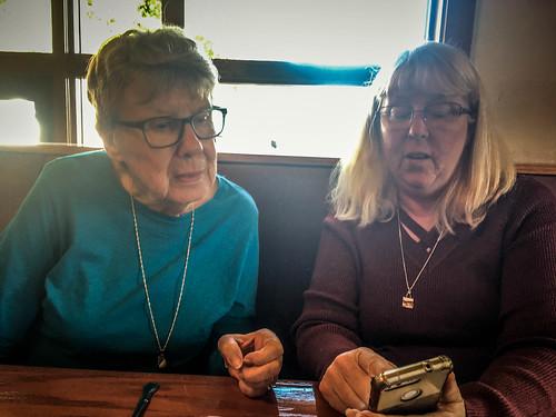 Laura and Aunt Ellen