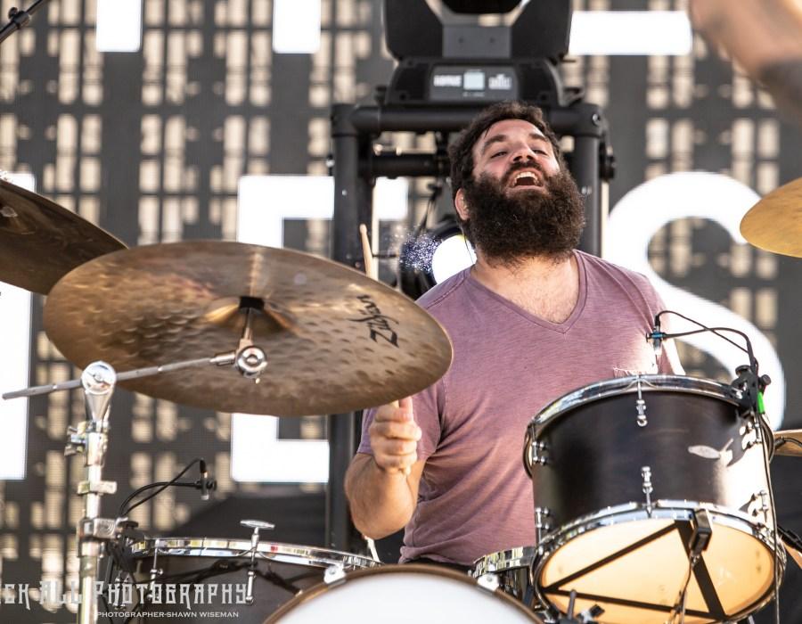 MANCHESTER ORCHESTRA - Bunbury Music Festival 2018 - 6/2/18 - Cincinnati Ohio