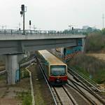 Ostkreuz: S-Bahn unter der Südkurve