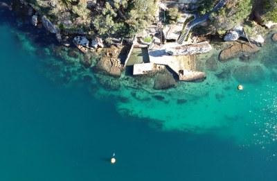 Shiprock wall from above #marineexplorer