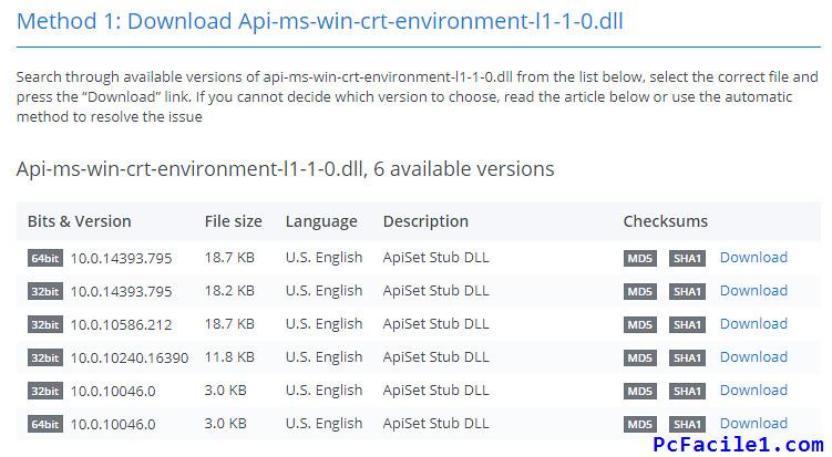 تحميل ملفات Dll المفقودة في الويندوز وحل مشكل تشغيل البرامج