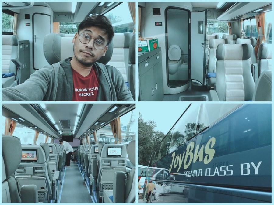 Joy Bus from Baguio to Cubao / Mitsubishi Gallant 1994