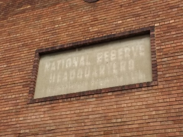 National Reserve Headquarters, Ghostsign Middlesbrough