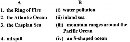 ICSE Solutions for Class 6 Geography Voyage - Major Water Bodies 3