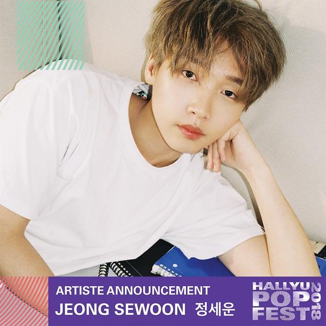 HallyuPopFest 2018 - JEONG SEWOON