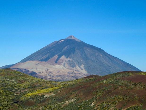 Vista del volcán Teide