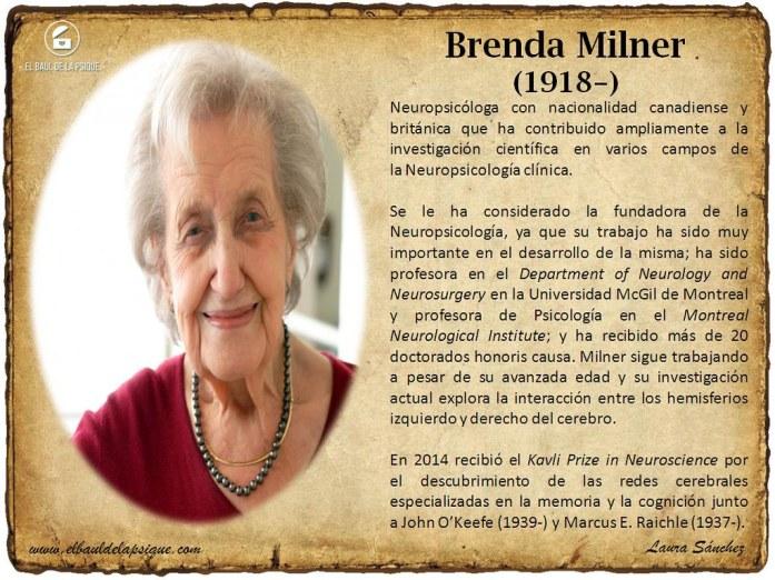 El Baúl de los Autores: Brenda Milner