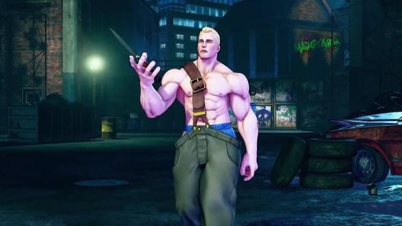 Street Fighter 5 - Cody as Mike Haggar