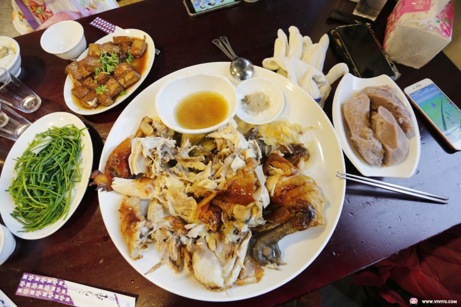 宜蘭美食,招牌炸豆腐,桂花芋頭,番割田甕窯雞,番割田甕缸雞,美味烤雞,蘇澳交流道 @VIVIYU小世界