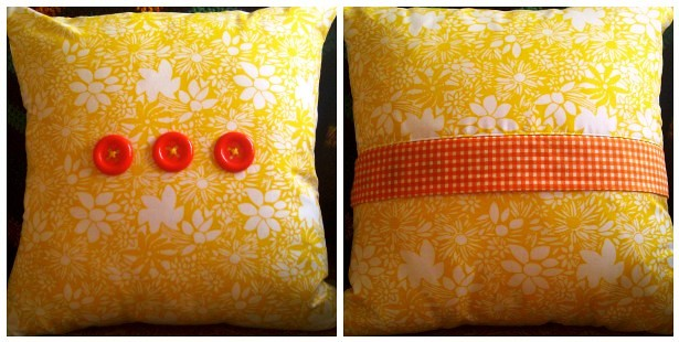 Single Skein Zippered Cushion Cover