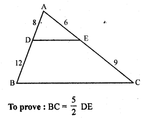Solution Of RD Sharma Class 10 Chapter 4 Triangles