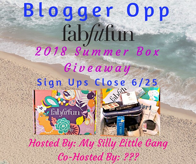 Blogger Opp FabFitFun Summer Box Giveaway